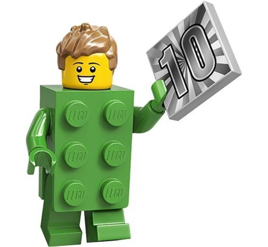 71027-13  CMF Brick Costume Guy