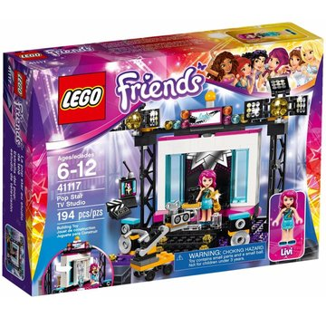 LEGO 41117 Friends Popster TV Studio
