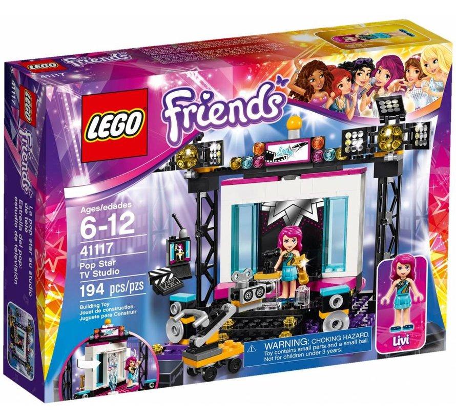 41117 Friends Popster TV Studio