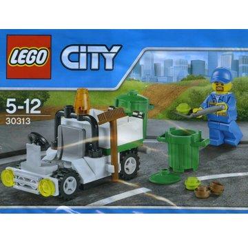 LEGO 30313 City Polybag Stad Afvaldienst Auto