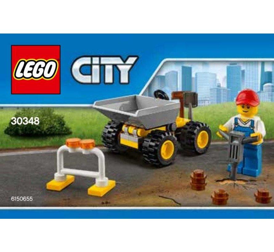 30348 City Polybag Mini Dumper