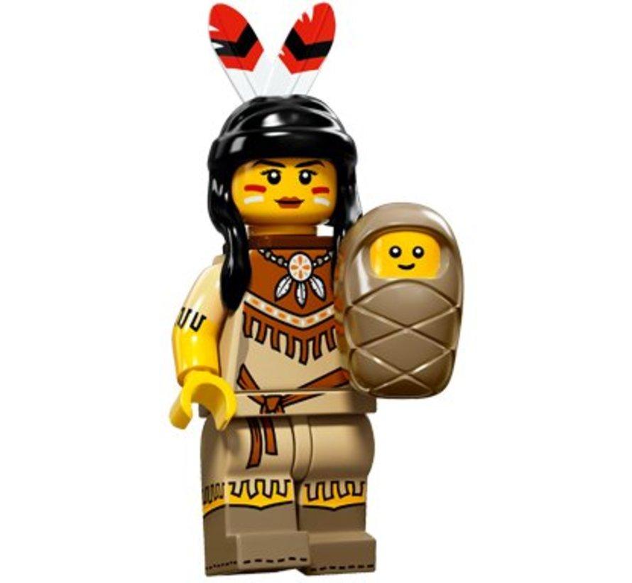 71011-05 : Minifiguren Serie 15 Tribal Woman