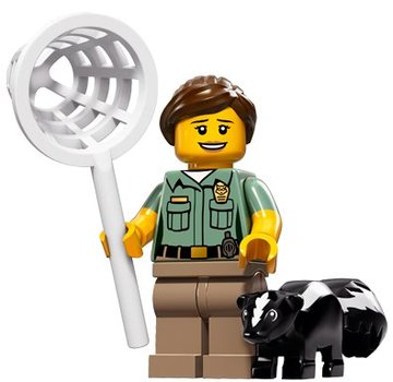 LEGO 71011-08 : Minifiguren Serie 15 Animal Control Officer