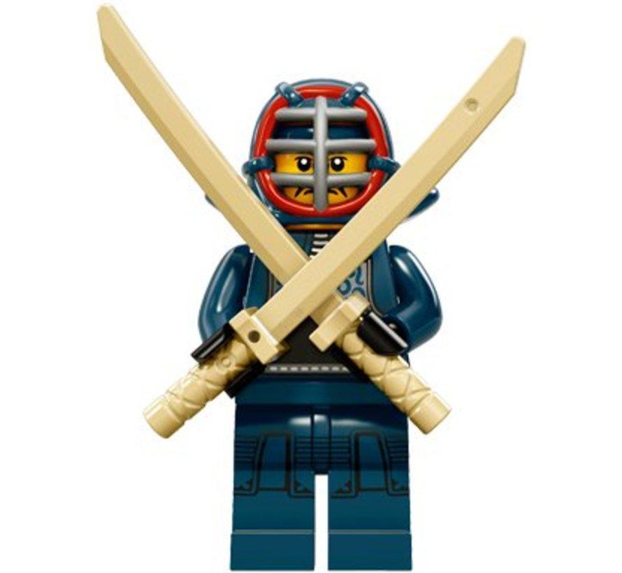 71011-12: Minifiguren Serie 15 Kendo Fighter