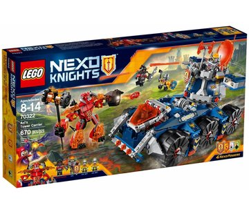 LEGO 70322 Nexo Knights Axls torentransport
