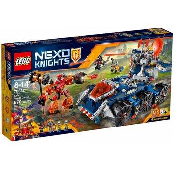 LEGO 70322 Nexo Knights Axls torentransport