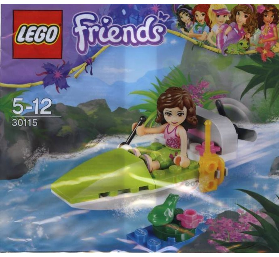 30115 Friends Polybag Jungle Boat