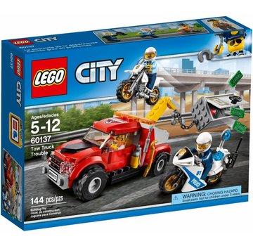 LEGO 60137 City Sleeptruck probleem