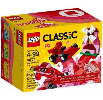 LEGO 10707 Classic Rode creatieve doos