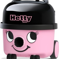 Hetty Compact HET-160 - Stofzuiger met zak - Roze