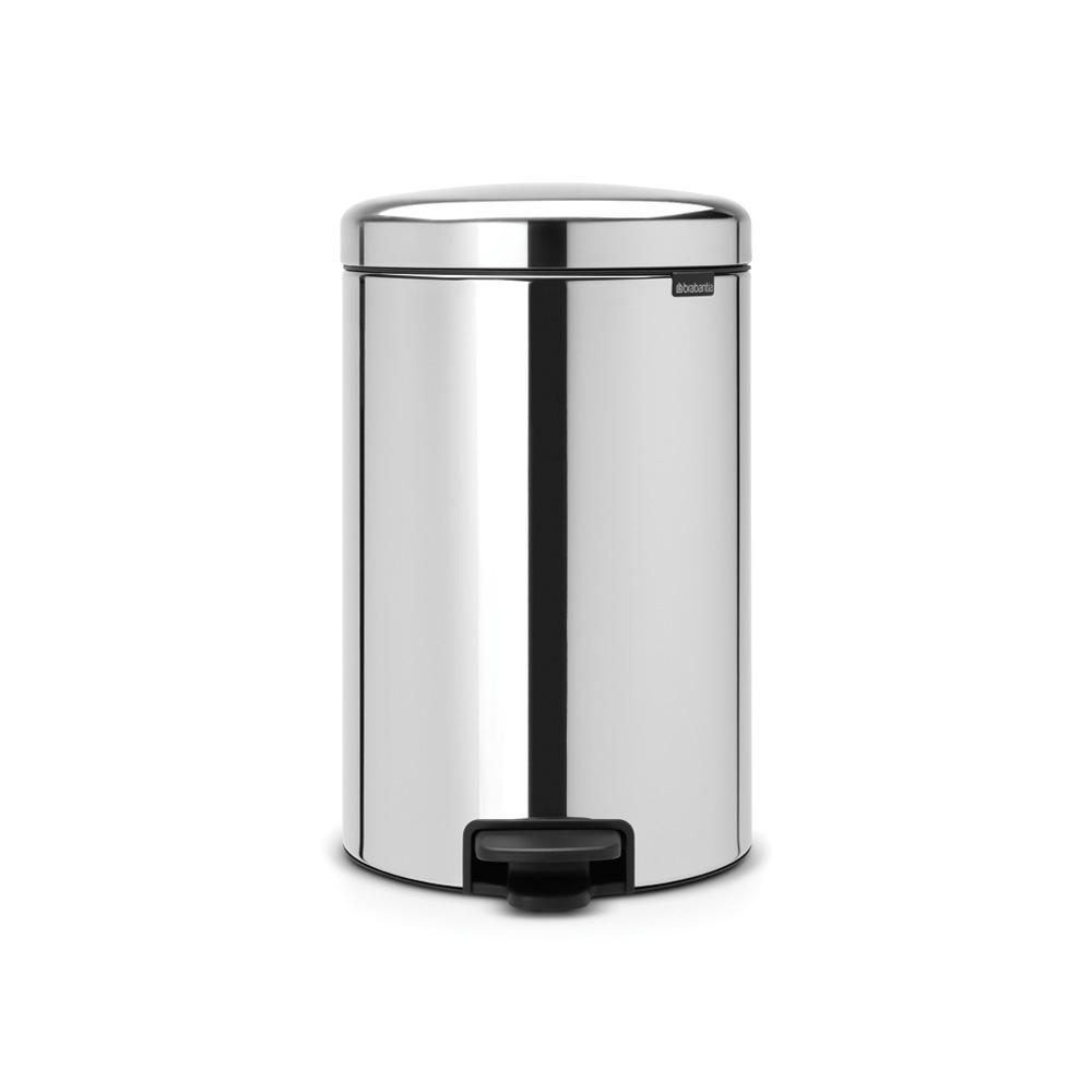 Brabantia 20 Liter Pedaalemmer.Brabantia Newicon Pedaalemmer 20ltr Brilliant Steel