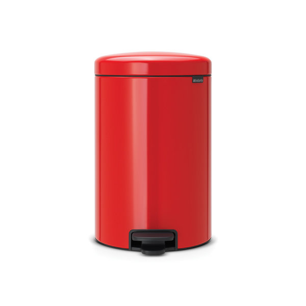 Brabantia NewIcon pedaalemmer 20ltr  Passion Red