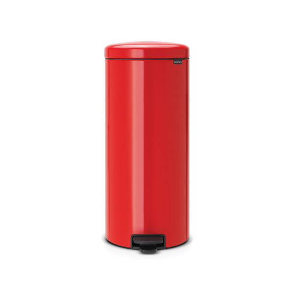 Brabantia NewIcon pedaalemmer 30ltr  Passion Red