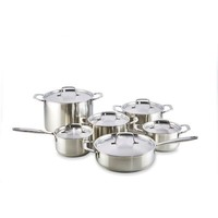 Fresh Kookpannenset - 6 delig - RVS