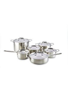 Habonne Fresh Kookpannenset - 6 delig - RVS