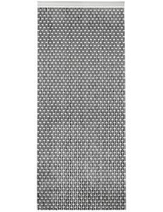 Wicotex Vliegengordijn Tube - 210 x 90 cm - Zwart