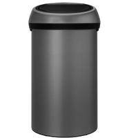 Touch Bin Afvalemmer - 60 liter - Mineral concrete grey