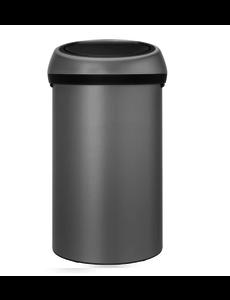 Brabantia Touch Bin Afvalemmer - 60 liter - Mineral concrete grey