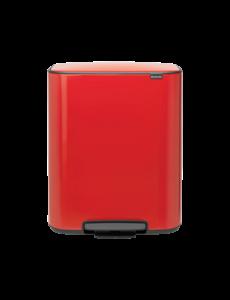 Bo Hi Pedaalemmer - 2 x 30 liter - Passion Red