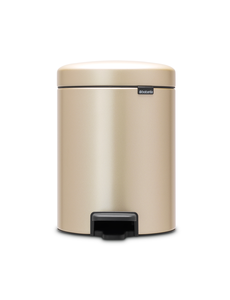 Brabantia NewIcon pedaalemmer 5ltr Champagne