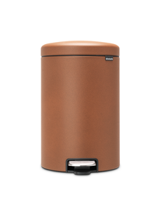 Brabantia NewIcon pedaalemmer 20ltr Mineral Cinnamon