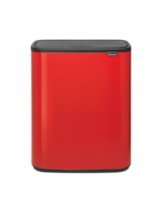 Brabantia Bo Touch Bin Afvalemmer - 60 liter - Passion Red