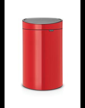 Brabantia Touch Bin Afvalemmer 40 ltr Passion Red