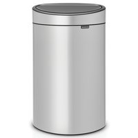 Touch Bin Afvalemmer 40 ltr Metallic Grey