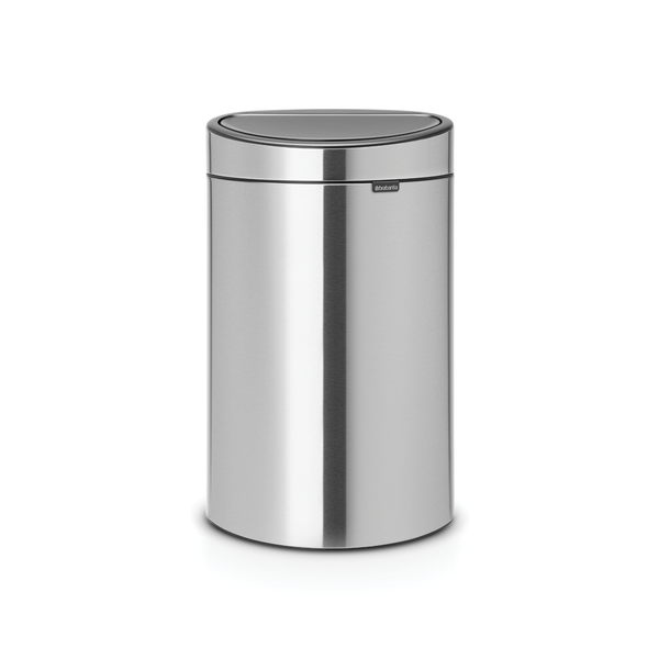 Brabantia Touch Bin Afvalemmer 40 ltr Matt Steel