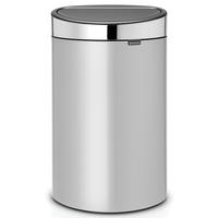 Touch Bin Afvalemmer 40 ltr Metallic Grey/Brilliant Steel
