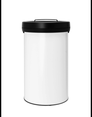 Brabantia Big Bin afvalemmer 60ltr White/Dark Grey