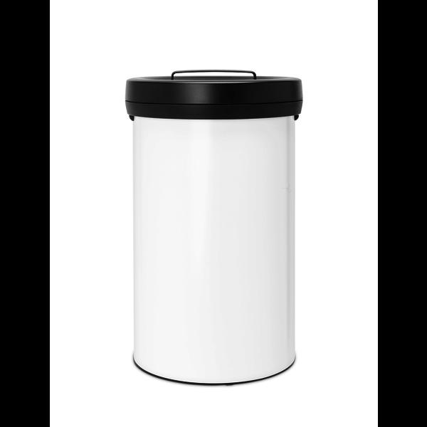 Big Bin afvalemmer 60ltr White/Dark Grey