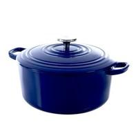 Bourgogne Braadpan - Royal Blue - 24 cm - Gietijzer