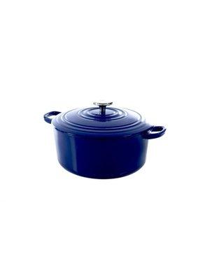 BK Bourgogne Braadpan - Royal Blue - 24 cm - Gietijzer