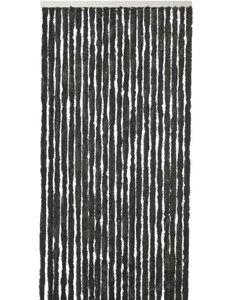 Vliegengordijn Kattenstaart - 220 x 90 cm - Zwart