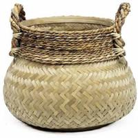 Basket Bamboo Natural  - (D)58 x (H)40 cm