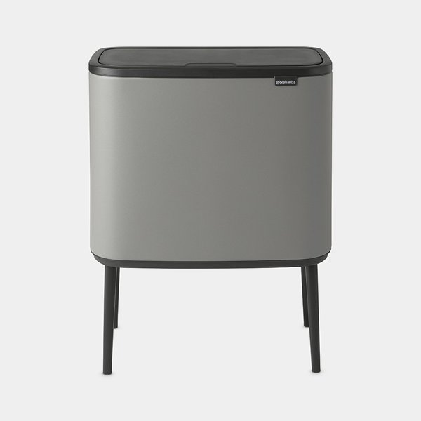 Brabantia Bo Touch Bin Afvalemmer - 36 liter - Mineral Concrete Grey