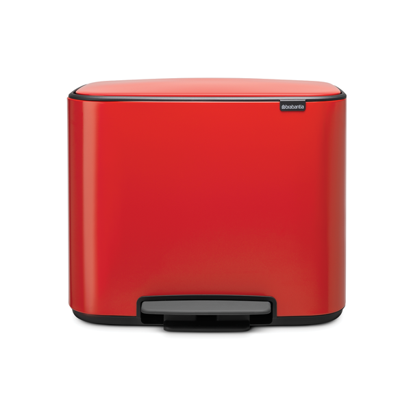 Brabantia Bo Pedaalemmer - 36 liter - Passion Red