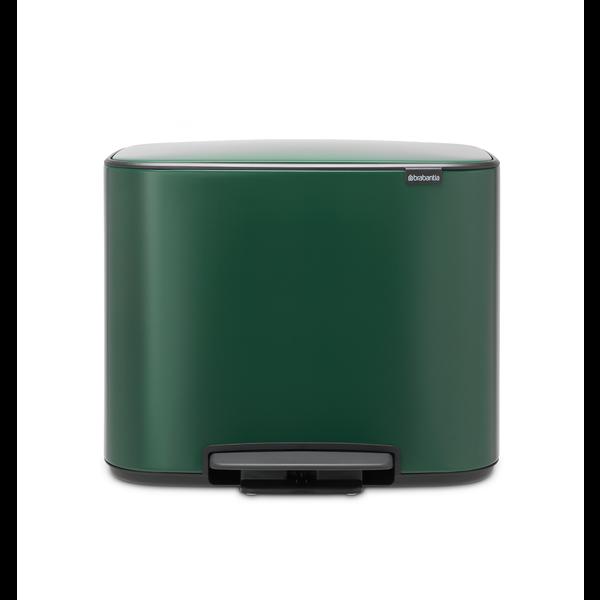 Brabantia Bo Pedaalemmer - 36 liter - Pine Green