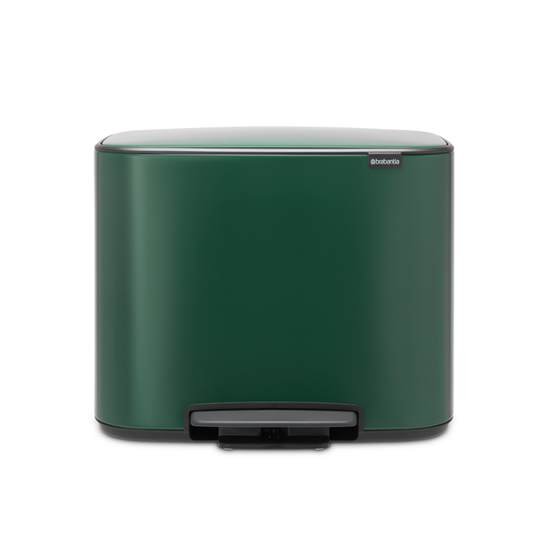 Brabantia Bo Pedaalemmer - 11 + 23 liter - Pine Green