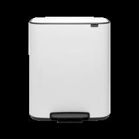 Bo Hi Pedaalemmer - 60 liter - White
