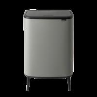 Bo Touch Bin Hi Afvalemmer - 60 liter - Mineral Concrete Grey