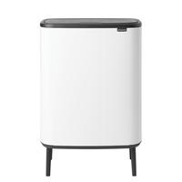 Bo Touch Bin Hi Afvalemmer - 60 liter - White