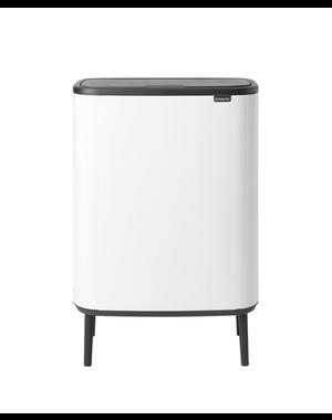 Brabantia Bo Touch Bin Hi Afvalemmer - 60 liter - White