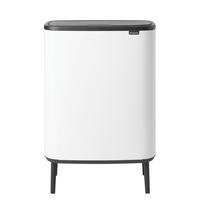 Bo Touch Bin Hi Afvalemmer - 2 x 30 liter - White