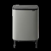 Bo Touch Bin Hi Afvalemmer - 2 x 30 liter - Mineral Concrete Grey