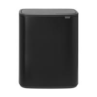Bo Touch Bin Afvalemmer - 2 x 30 liter - Matt Black