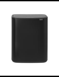 Brabantia Bo Touch Bin Afvalemmer - 2 x 30 liter - Matt Black