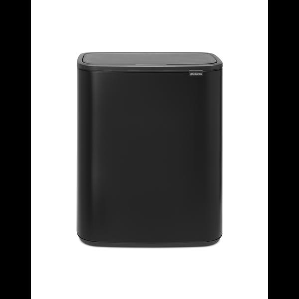 Brabantia Bo Touch Bin Afvalemmer - 60 liter - Matt Black