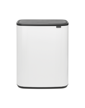 Brabantia Bo Touch Bin Afvalemmer - 60 liter - White